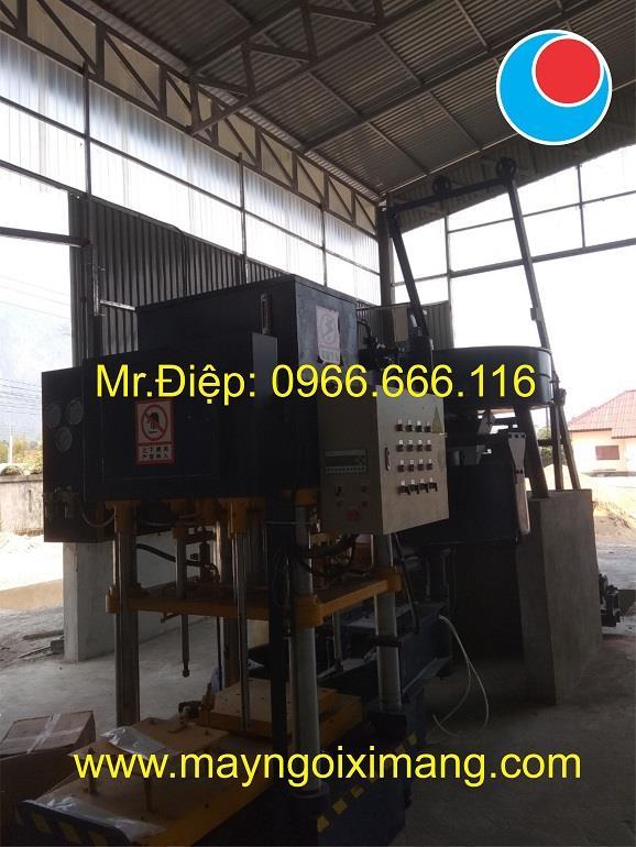 Lắp ráp máy ngói và Dây chuyền sơn sấy ngói tự động tại Lào 022019