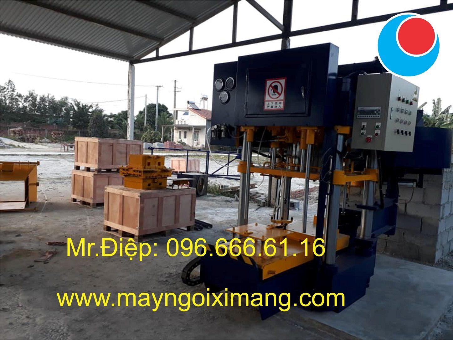 Lắp ráp máy sản xuất ngói màu cao cấp tháng 052019